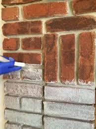 how to whitewash brick with limestone