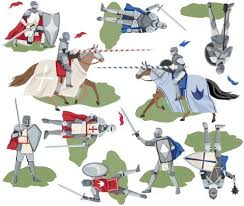 Large Medieval Castle Wall Decal With Knight Decals Removable Wall St
