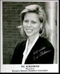 Val Ackerman BK