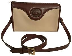 bourke awl vintage white brown leather