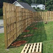 Found This Pallet Fence When I Was Researching Privacy Fences Diwhy