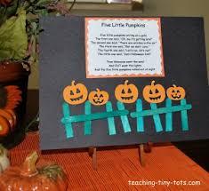 Toddler Activities Five Little Pumpkins Halloween Poem Motions And Activity