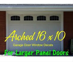 Large Arched Vinyl Garage Door Faux Window Decal Kit For 16 X 10 Panels Home Garden Decor Decals Stickers Vinyl Art Ayianapatriathlon Com