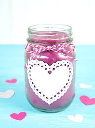 diy mason jar candles happiness is