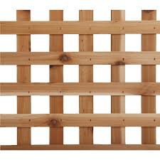 Square Heavy Duty Cedar Garden Lattice Capitol City Lumber