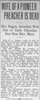Ida Jordan Riggin - Death - Newspapers.com