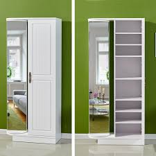full mirror cabinet bookcase