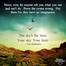 there are no limits to what you can accomplish when you set your