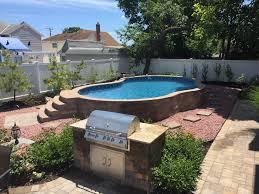 homemade inground pool 95453 radiant