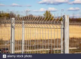 Wire Fence Panels High Resolution Stock Photography And Images Alamy