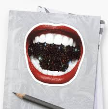 Lips Sticker Lips Decal Lips Vinyl Mouth Sticker Mouth Etsy