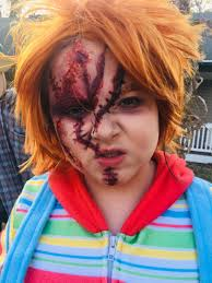 chucky makeup for saubhaya makeup