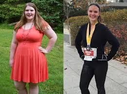 woman starting running for weight loss