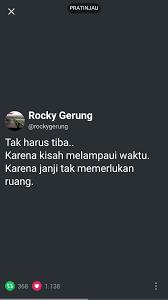 rocky gerung kutipan motivasi motivasi kutipan hidup