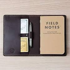 coal creek leather field notes cover