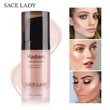 sace lady liquid highlighter face