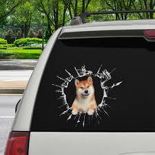 Get In It S Time For Shopping Shiba Inu Car Door Fridge Laptop Follus Com
