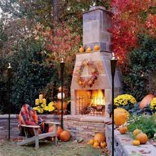 fall décor for indoor outdoor living