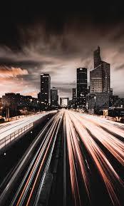 4k iphone x wallpaper city night