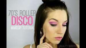 roller disco makeup tutorial