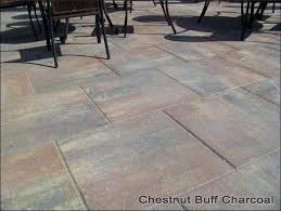 24 inch patio stone concrete patio