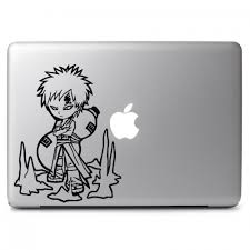 Chibi Gaara Apple Macbook Air Pro 11 13 15 17 Vinyl Decal Sticker Dreamy Jumpers
