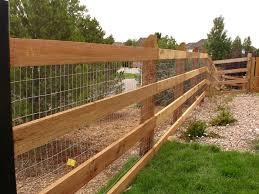 Wood Fencing Wood Fencing Rails