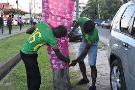 GFF PARTICIPATES IN ANNUAL BREAST CANCER AWARENESS MONTH: – Guyana Football  Federation