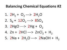 ppt balancing chemical equations 2