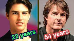Tom Cruise Through The Years in 60 seconds - YouTube