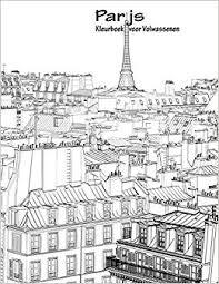 Amazon Com Parijs Kleurboek Voor Volwassenen 1 Volume 1 Dutch
