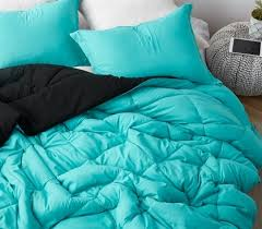 bright aqua oversized full xl comforter