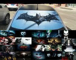 Transparent Car Back Rear Window Decal Vinyl Sticker Batman Joker Superman Ebay