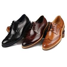 mens shoes business fashion lace up
