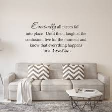 Vwaq Com Eventually All Things Fall Into Place Quotes Wall Decal