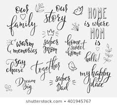 vectores imagenes y arte vectorial de stock sobre cute family