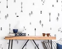 Tribal Arrows Triangles Wall Decals Nursery Decals Tribal Arrow Decals Kids Wall Decals Vinyl Wall Decals Cute Tribal Nursery Decals
