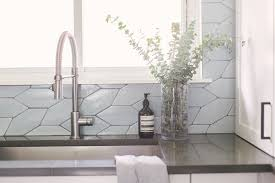 Blue Picket Kitchen Backsplash Transitional Kitchen Denver By Fireclay Tile