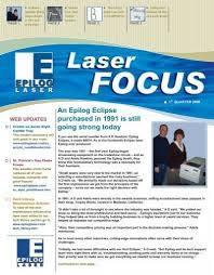 1st Quarter 2008 - Epilog Laser