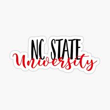 Nc State University Sticker By Jmtuders21 Redbubble