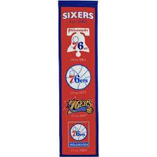 Philadelphia 76ers Sign 76ers Pennant Banner Posters Fanatics