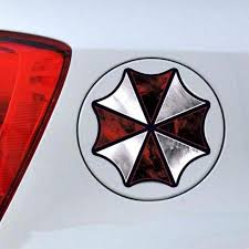 Resident Evil Corporation Umbrella Cartoon Glue Sticker Car Decal Covers Waterproof Reflective On Fuel Tank For Alfa Romeo Audi With Free Shipping