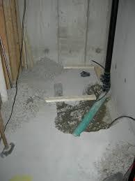 basement rough in ridgid forum
