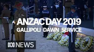 Anzac Day Dawn Service From Anzac Cove ...