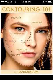 where do you apply highlighter makeup