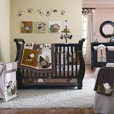 monkey baby crib bedding theme and