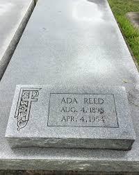 Ada Reed (1898-1954) - Find A Grave Memorial