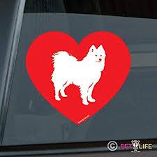 Samoyed Windshield Sticker Vinyl Auto Window Sammy