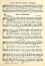 His Worthy Praise 174. Stars of December, shining so bright | Hymnary.org