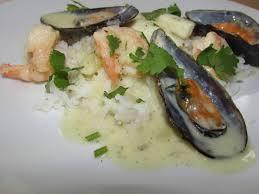 Creamy seafood marinara recipe